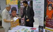 Muslim Aid's information stand at the conference