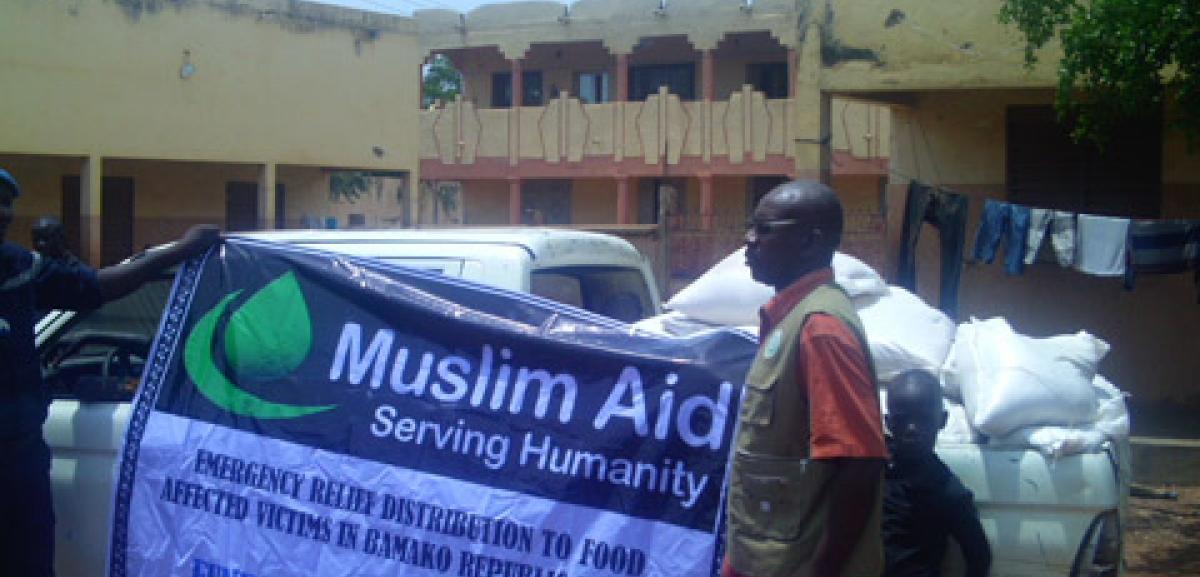 Food distribution in Mali