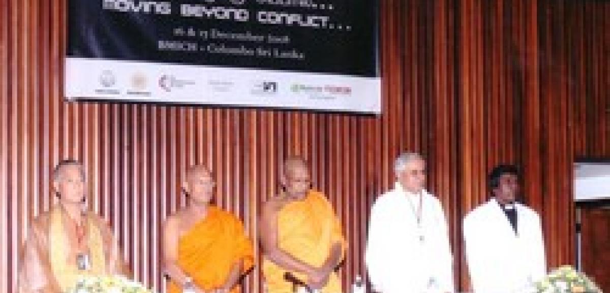 Conference Explores Reconciliation in Sri Lanka
