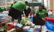 Muslims donate 10 tonnes of food in charity drive for homeless this Christmas