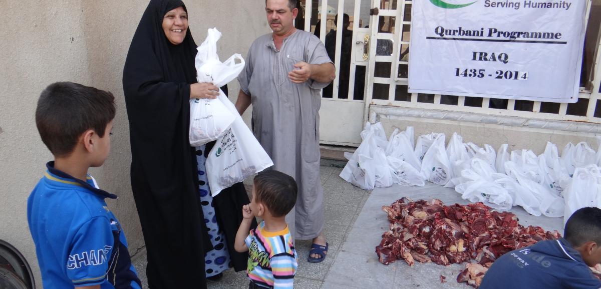 Qurbani in Iraq