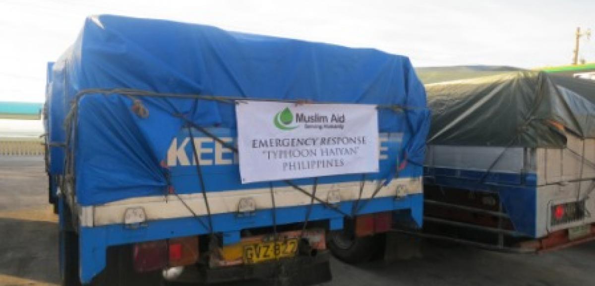 Muslim Aid's response to Typhoon Haiyan disaster