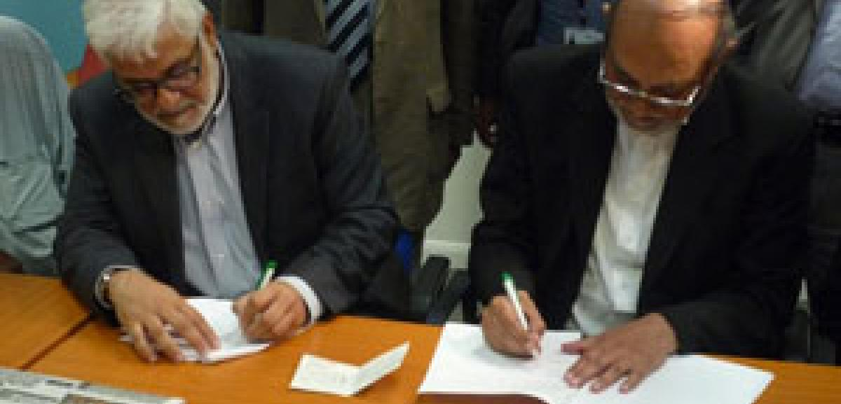 Muslim Aid, Balham Mosque and Tooting Islamic Centre sign MoU for Pakistan