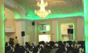 Distinguished guests at the Muslim Aid Volunteer's dinner