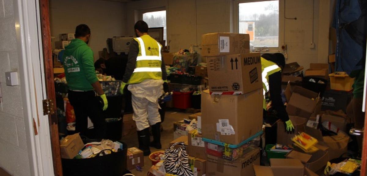 UK floods cause mass destruction