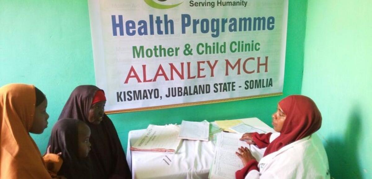 Muslim Aid Intervention in Kismayo, Somalia
