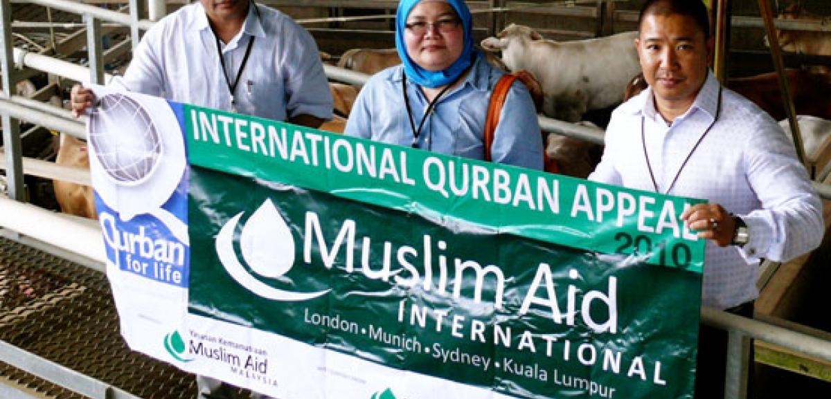 Muslim Aid Qurbani programme in Malaysia