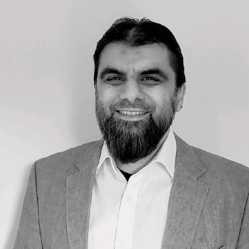Portrait of Kashif Shabir