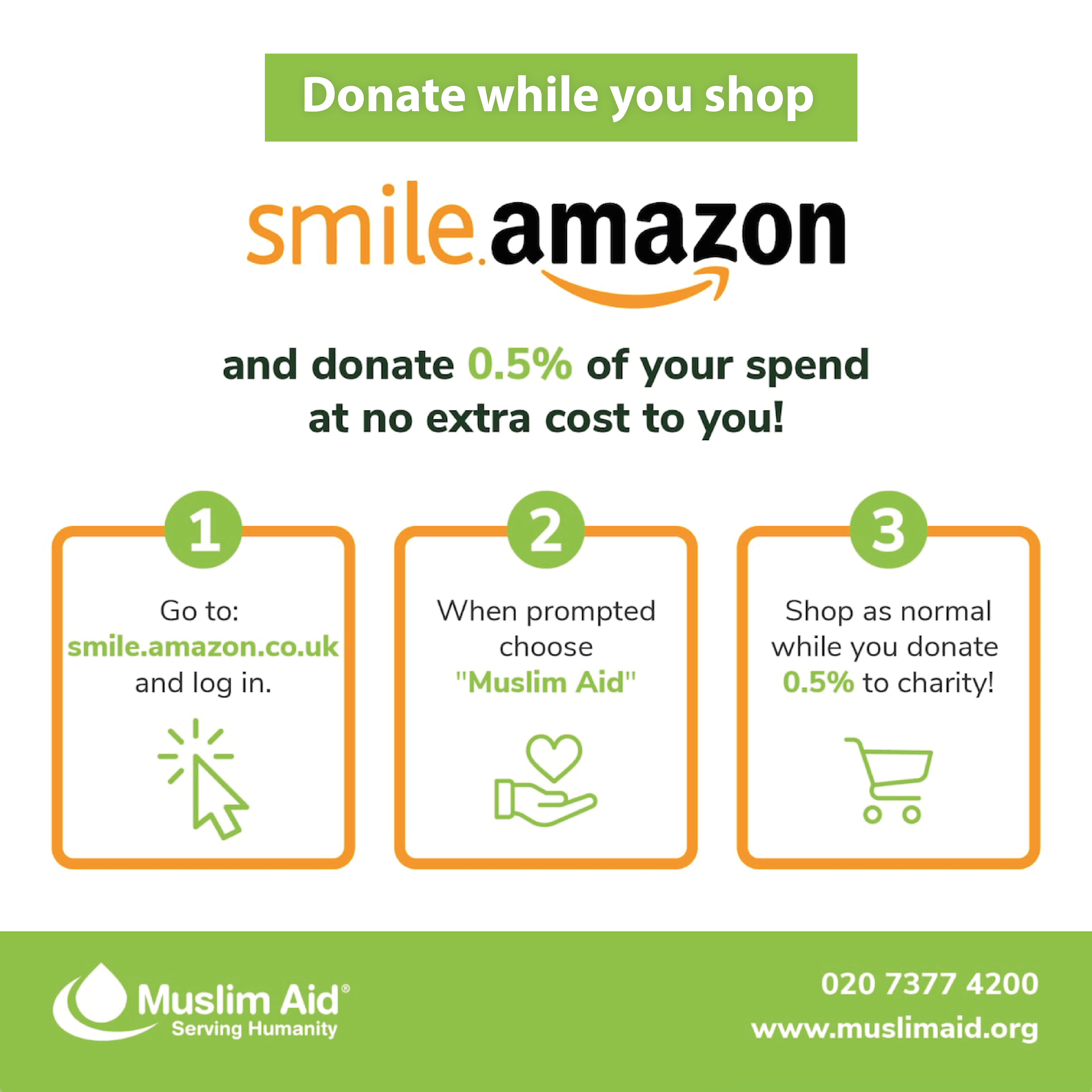 Banner for Smile Amazon