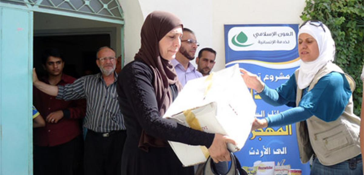 Muslim Aid Assistance continues for Syrians