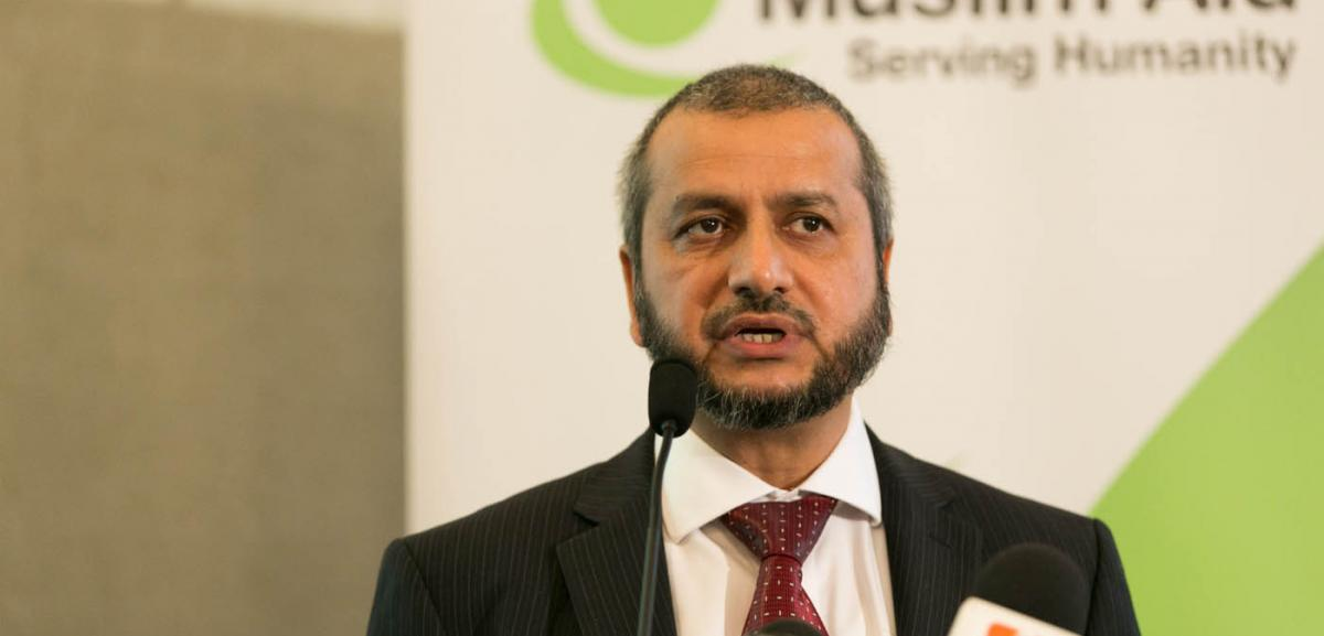 Give Freedom: Muslim Aid Launches its Ramadan Campaign for 2014